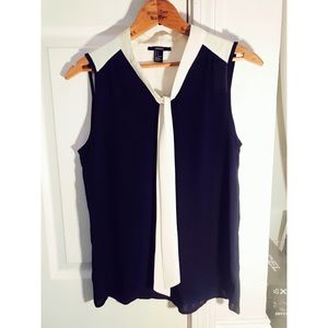 Cute blue dress sailor tank